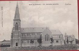 Essen Esschen 1907 Kerk En Pastorij Hoelen Cappellen Nr. 3424 (In Goede Staat) - Essen