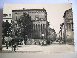 1946 - Imola - Monumento Medaglia D'Oro Francesco Azzi - Animata - Cartolina Storica Originale - Vera Fotografia - Imola