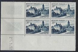 """FR Coins Datés YT 905 """" Vue D'Arbois """" Neuf** Du 21.1.52 - 1950-1959"""