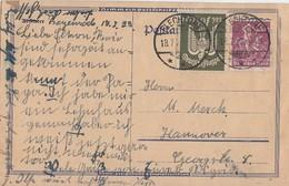 DR Ganzsache Minr.241,266 Flechtorf 18.7.23 - Deutschland
