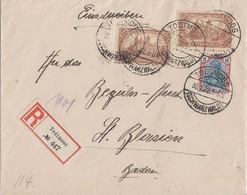 DR R-Brief Mif Minr.2x 114,152 Todtmoos 30.1.22 - Deutschland