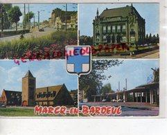 59 - MARCQ EN BAROEUL - LE CROISE LAROCHE- HOTEL DE VILLE-EGLISE SAINT PAUL-HIPPODROME DES FLANDRES -1969 - Marcq En Baroeul