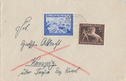 DR Brief Mif Minr.699,711 Altranstädt - Briefe U. Dokumente