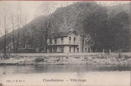 Chaudfontaine Villa Rouge Vesder 1907 (En Très Bon Etat) (In Zeer Goede Staat) - Chaudfontaine