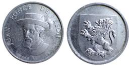 00671 GETTONE TOKEN JETON GADGET WASHING POWDER SPANISH CONQUISTADORES JUAN PONCE DE LEON '70 - Espagne