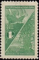 CUBA - Scott #337 Sugar Cane / Used Stamp - Cuba
