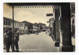 Mirano (Venezia) -  Via XX Settembre - Animata - Viaggiata Nel 1956 - (FDC12312) - Venezia (Venice)
