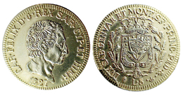 00249 GETTONE TOKEN JETON REPRO COIN COMMEMORATIVE CARLINO BOLOGNA - Italy