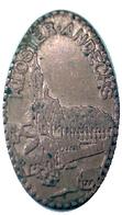 05298 GETTONE TOKEN JETON ELONGATE PENNY TOURISTIC KOLSTER ANDECHS - Pièces écrasées (Elongated Coins)