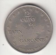 2 Euros  De TARN Et GARONNE - Euros Of The Cities