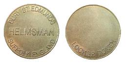 00132 GETTONE TOKEN JETON LOCKEWR TOKEN BURY ST. EDMUNDS HELMSMAN SUFFOLK ENGLAND - Unclassified
