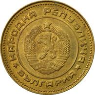 Monnaie, Bulgarie, 5 Stotinki, 1974, TTB, Laiton, KM:86 - Bulgaria