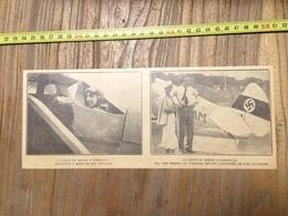 ANNEES 20/30 COUPE DU MONDE D ACROBATIE DETROYAT VON BISSING ET FIESELER - Vieux Papiers