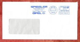 Brief, Pitney Bowes E974237, Spiegler Opel, 90 C, Aalen 2012 (58272) - [7] West-Duitsland