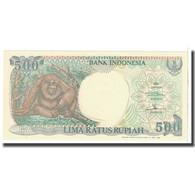 Billet, Indonésie, 500 Rupiah, 1992, KM:128a, SPL - Indonésie