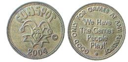03239 GETTONE TOKEN JETON GAMING MACHINE AMUSEMENT CENTER FUN SPOT 2004 ORLANDO FLORIDA - USA