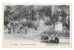 (21299-61) Flers - Square Du Champ De Foire - Flers