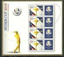 Bloc 2018  RYDER CUP - Mint/Hinged