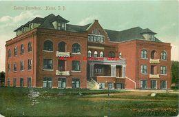 274555-South Dakota, Huron, Ladies Dormitory, 1911 PM, S Langsdorf No E 14 233 - Etats-Unis