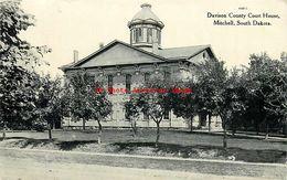 274563-South Dakota, Mitchell, Davison County Court House, 1910 PM, Curt Teich No A3815 - Etats-Unis