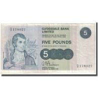 Billet, Scotland, 5 Pounds, 1971, 1971-03-01, KM:205a, TB - Schotland