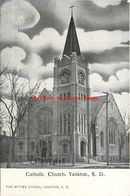 274581-South Dakota, Yankton, Catholic Church, Withee Studio - Verenigde Staten