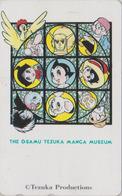 Télécarte Japon / 110-011 - MANGA - MUSEE TEZUKA MUSEUM - VITRAIL - STAINED GLASS Japan Phonecard - 10719 - Comics