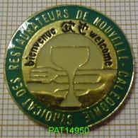 SYNDICAT Des RESTAURATEURS De NOUVELLE CALEDONIE   BIENVENUE WELCOME DOM TOM - Associations