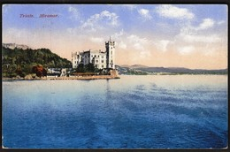 Italy Trieste 1918 / Miramar / Castle / KuK Feldpost - Trieste