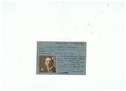 CARTE D'INTERNE POLITIQUE EN ALLEMAGNE  HABITANT De FERRIERE  LA GRANDE (NORD)  GUERRE 1914 18 - 1914-18
