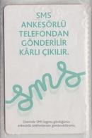 TURKEY 2007 SMS 100 UNITS USED PHONE CARD - Türkei