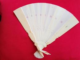Antique Female Ivory Hand Fan 19th Century - Fans