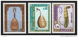 """Algerie YT 460 à 462 """" Instruments De Musique """" 1968 Neuf** - Algérie (1962-...)"""