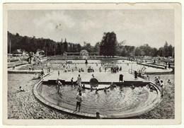 Groß Strehlitz O/S, Schwimmbad, Ansichtskarte 1956 - Polonia