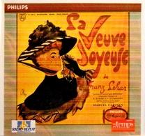 La VEUVE JOYEUSE. Operette De Franz Lehar. Extraits. 1 Cd . 1993. - Oper & Operette