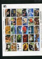 DENMARK WWF 2007 SHEET With MAMMELS Etc. MNH. - W.W.F.