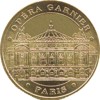 75008 PARIS OPÉRA GARNIER MÉDAILLE MONNAIE DE PARIS 2018 JETON TOKEN MEDALS COINS - 2018