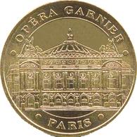 75008 PARIS OPÉRA GARNIER MÉDAILLE MONNAIE DE PARIS 2018 JETON TOURISTIQUE TOKENS MEDALS COINS - 2018