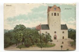 Wexio, Växjö, Sweden - Domkyrkan - Postcard Sent Within USA In 1905 - Sweden