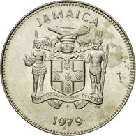 Monnaie, Jamaica, Elizabeth II, 5 Cents, 1979, Franklin Mint, USA, TTB - Jamaique