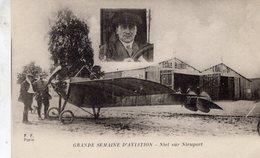 Grande Semaine D'Aviation  - Niel Sur Nieuport Au Ecole Blériot   -  CPA - ....-1914: Vorläufer