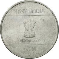 Monnaie, INDIA-REPUBLIC, 2 Rupees, 2009, TTB, Stainless Steel, KM:327 - India