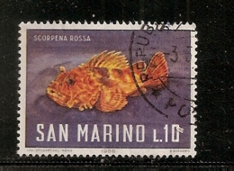 SAINT MARIN     N°   681   OBLITERE - Saint-Marin