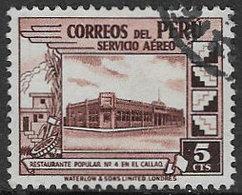 Peru SG650 1938 Definitive 5c Good/fine Used [38/31433/4D] - Peru