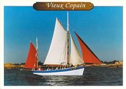 Bâteaux:- Voiliers: VIEUX COPAIN Thonier Restauré En 1969 Paimpol - Sailing Vessels