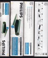 Lot De 4 Cartouches Encre  Philips PFA 351 Ruban Transfert Pour Imprimante 1 X Noir 140 Pages - Autres Collections