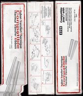 Lot De 4 Rubans Transfert Thermique Noir 3704 Compatible BROTHER PC72 - Autres Collections