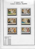Centrafricaine 1983; 6 Stamps; With Stamps You Buy Also Gamenotations - Repubblica Centroafricana