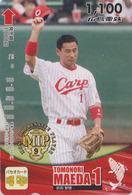Carte Prépayée Japon - SPORT - BASEBALL CARP - Tomonori MAEDA - Japan Prepaid Sports Card / V2 - Hiro 30 - Sport