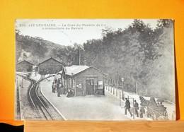 Aix Les Bains - La Gare Du Chemein De Fer à Crémaillère Du Revard - Aix Les Bains